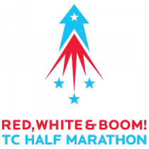 Red White and Boom Half Marathon July 4, 2013