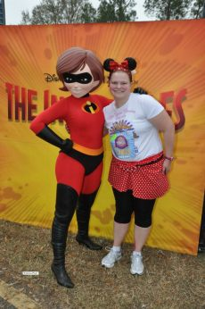 Jenny and Mrs. Incredible